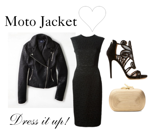 What to Wear with a Moto Jacket