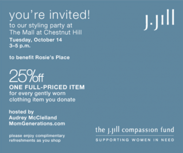 J.Jill Styling Event
