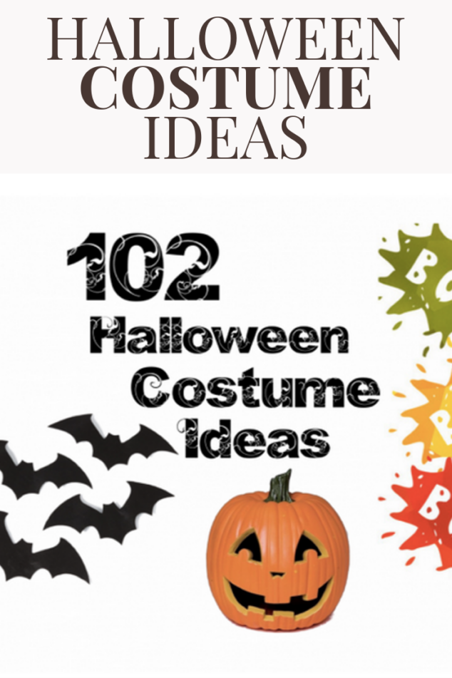 102 Halloween Costume Ideas