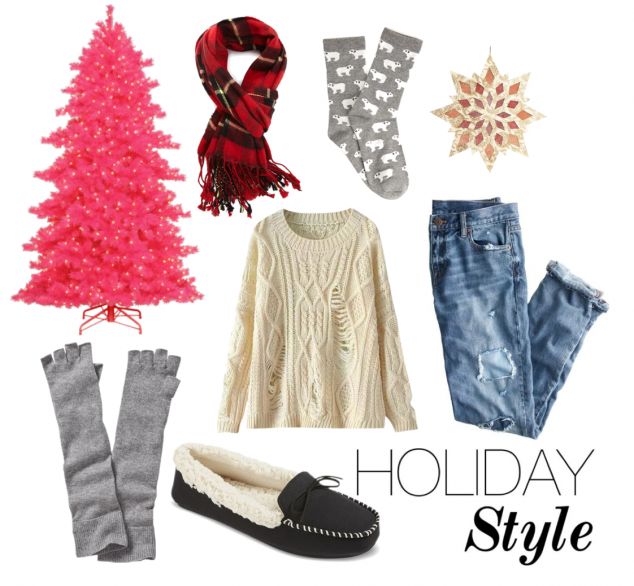 Holiday Style for the Couch