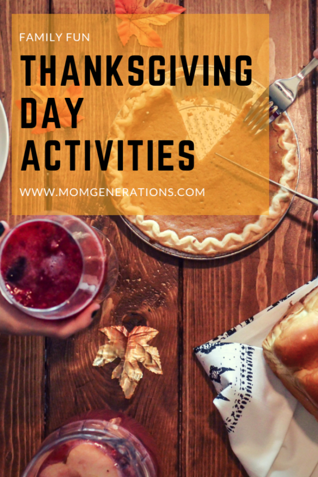 Thanksgiving Day Activities to Do with your Family