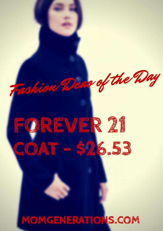 Forever 21 Coat Deal