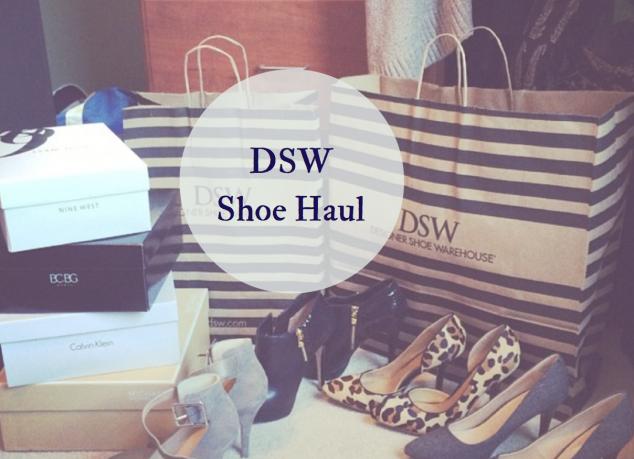 Shoe Haul DSW