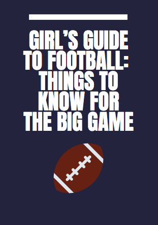 Girls Football: Football Glossary of Things to Know for the BIG GAME