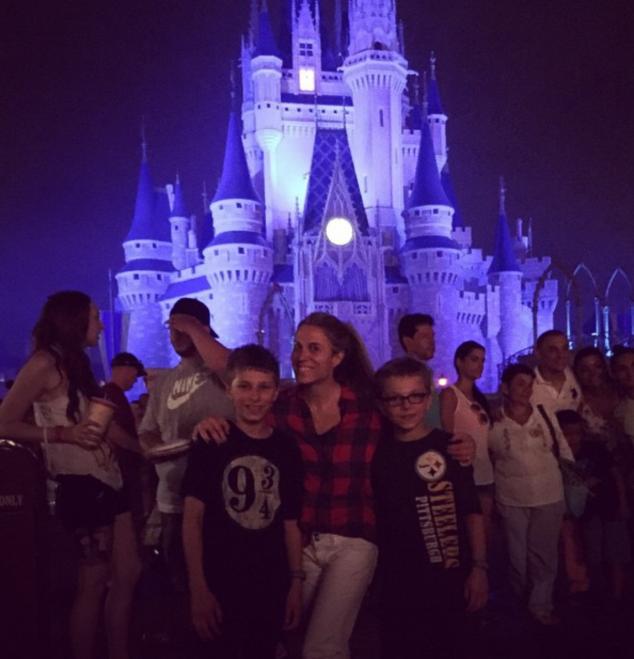 Disney World with Grandparents