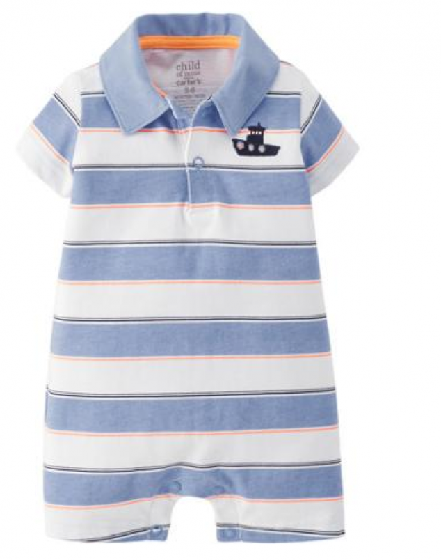 child of mine carters boys romper