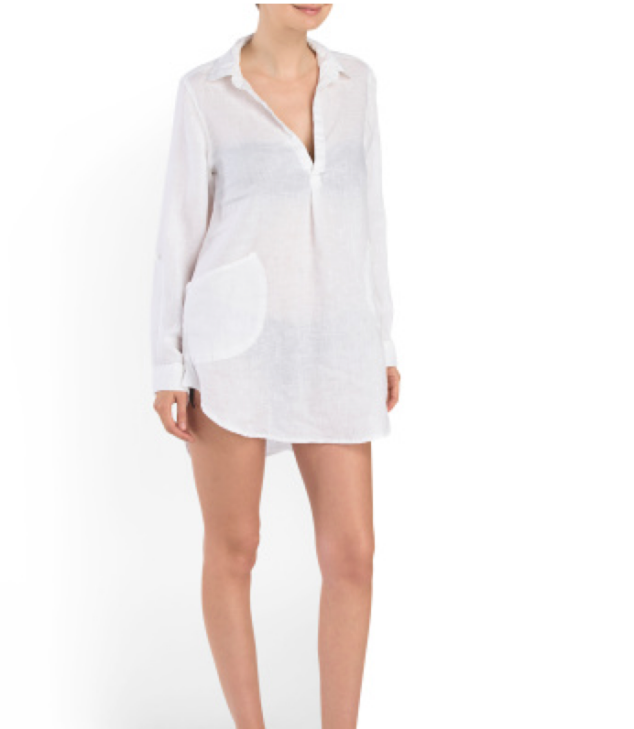 Statement Tunic Beach Cover-up