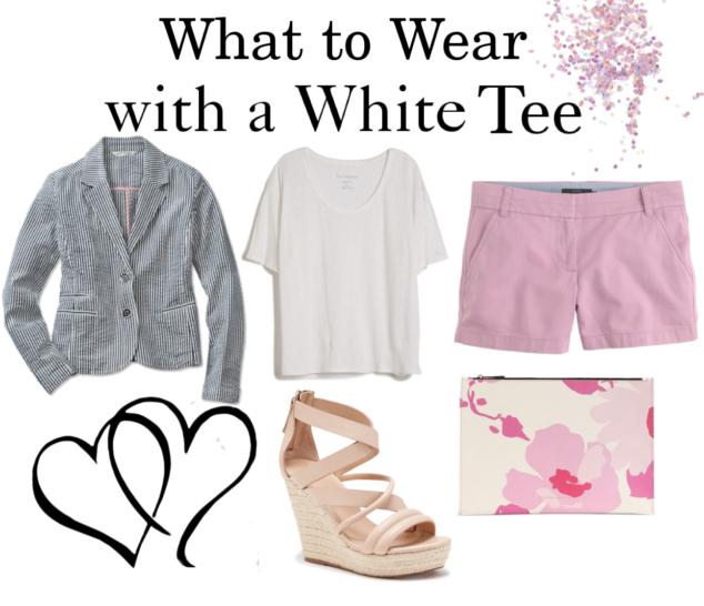White Tee