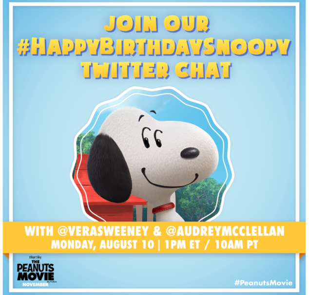 Snoopy Twitter Party