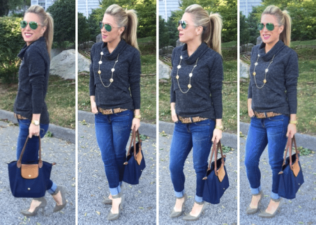 d1a7cd40ebbe How to Dress Up Jeans - Daily Mom Style  style  fashion - Mom ...