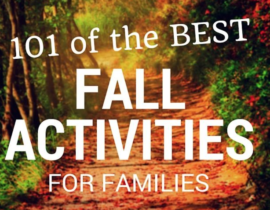 101 of the Best Fall Activities