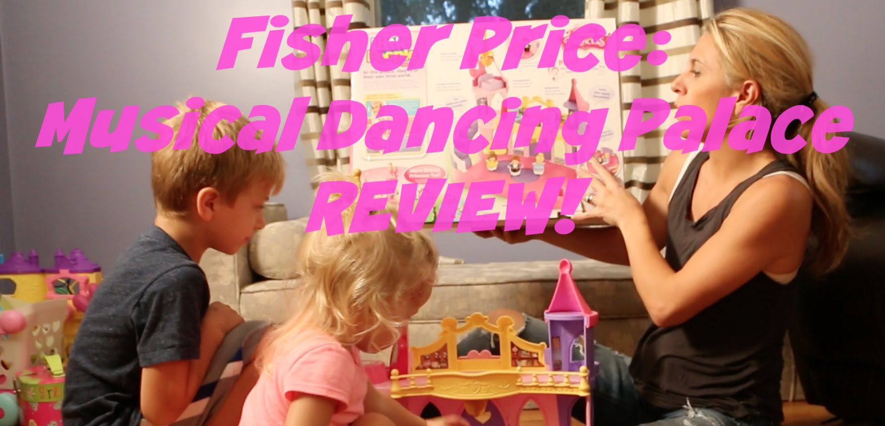 Fisher Price Little People Musical Dancing Palace