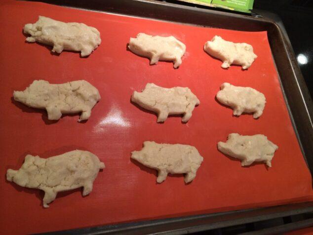 Pig Sugar Cookies