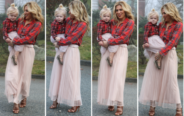 Mom and Daughter Fashion