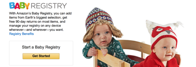 AMAZON PRIME Baby Registry Benefits
