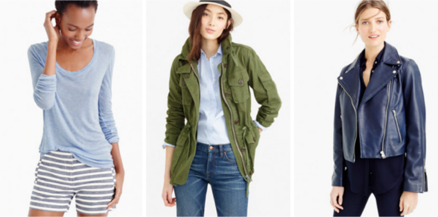 Spring Arrivals from J.Crew
