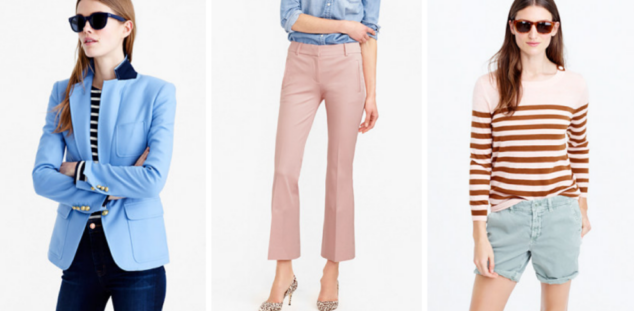Arrivals from J.Crew for Spring