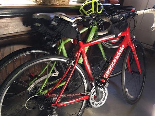 - Found the bikes -