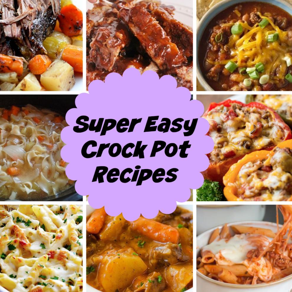 9 Super Easy Crock Pot Recipes - Stylish Life for Moms