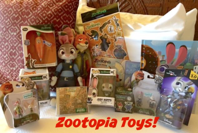 Zootopia Toys