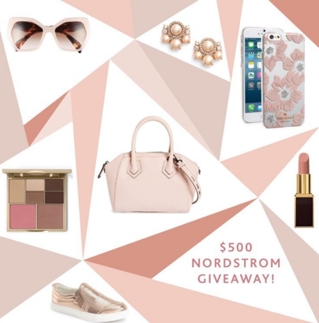 Nordstrom $500 Gift Card Giveaway #Giveaway