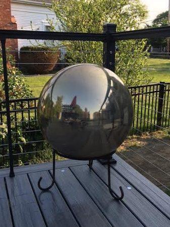Gazing Ball and its Magic