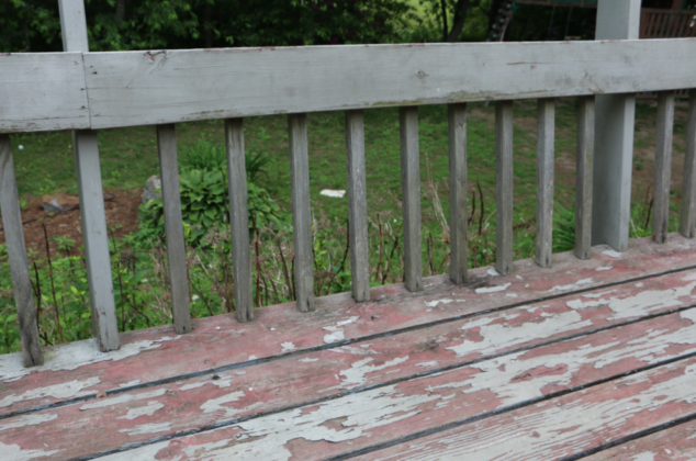 "We're excited to have our deck look beautiful and ""brand new"" after staining with Thompson's WaterSeal!!"