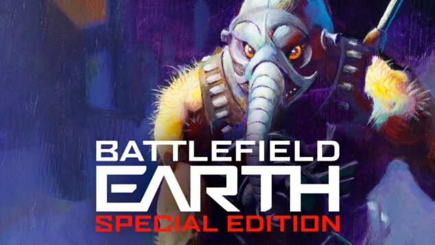 The re-release of L. Ron Hubbard's Battlefield Earth