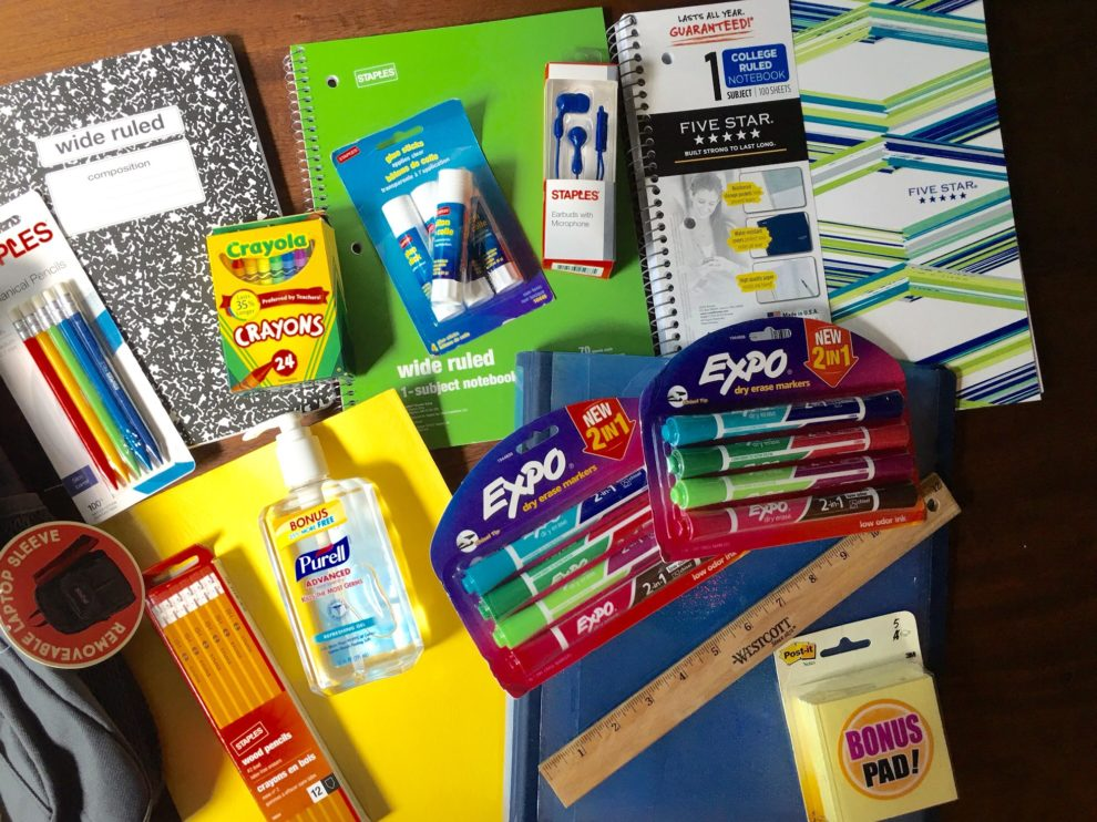 Staples: $5 Off $25 School Supplies In-Store Purchase Coupon