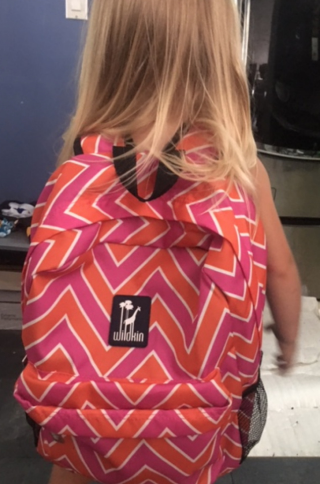 pink wildkin backpack for girl