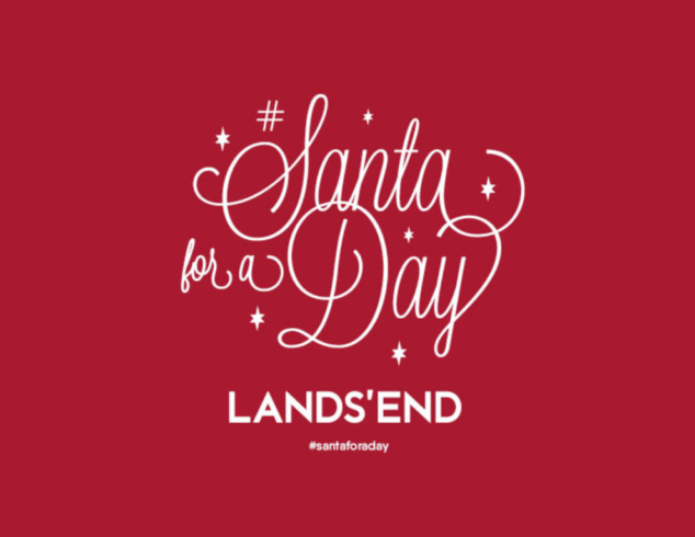 Santa for a Day with Lands' End
