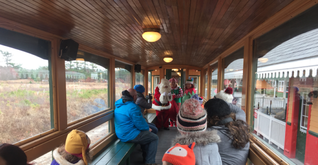Edaville USA Santa VIP Train