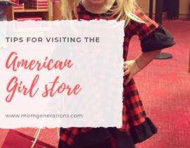 American Girl Cafe NYC