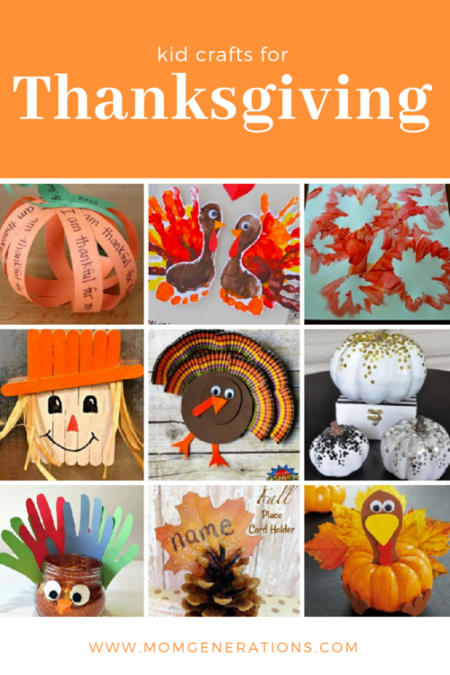 Easy Thanksgiving Craft Projects for your Kids