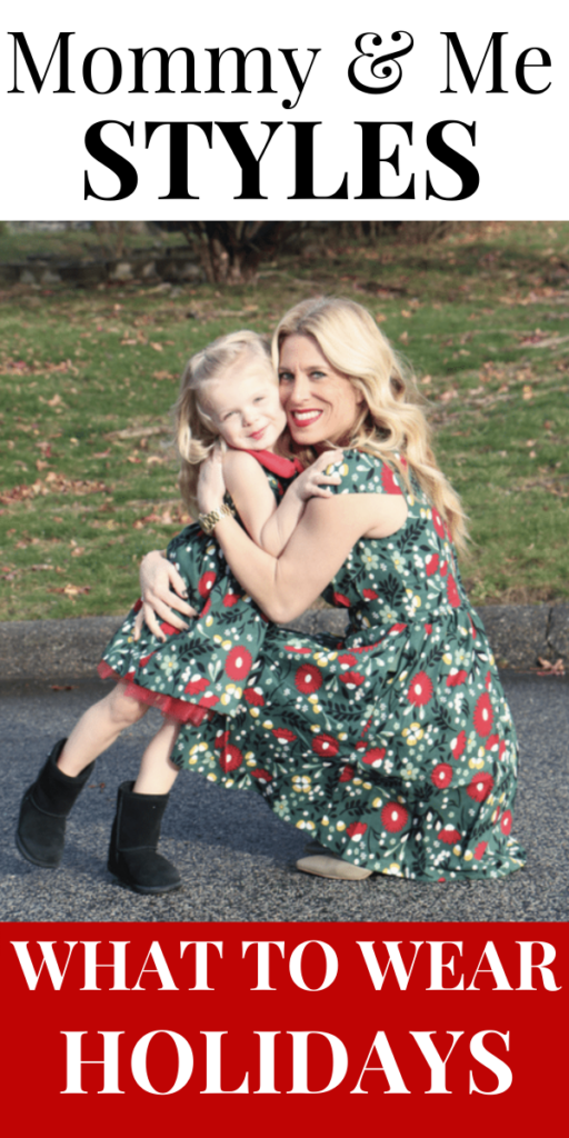 Mommy and Me Holiday Styles