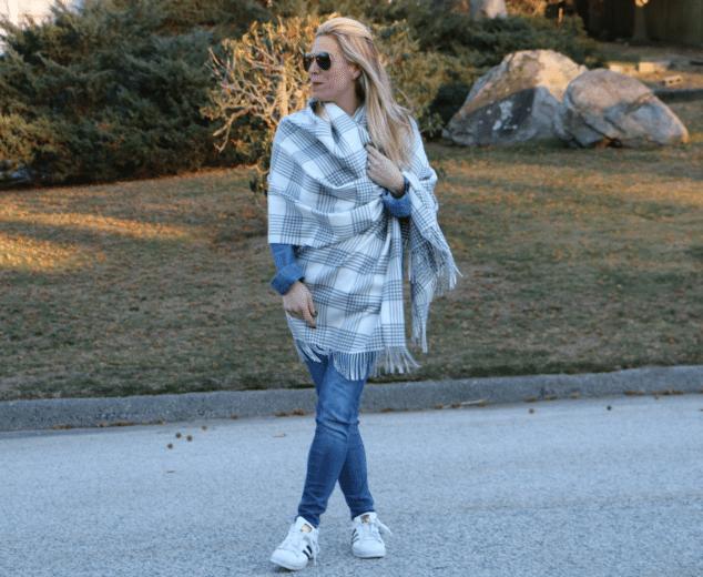 Garnet Hill Blanket Wrap