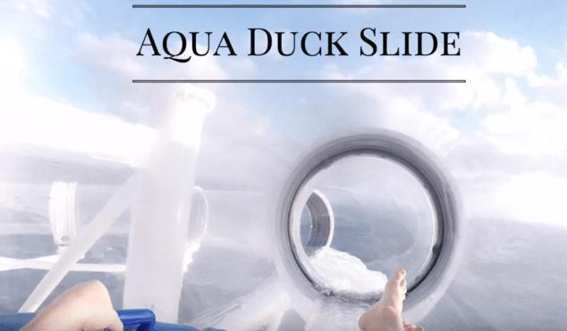 Aqua Duck Water Slide