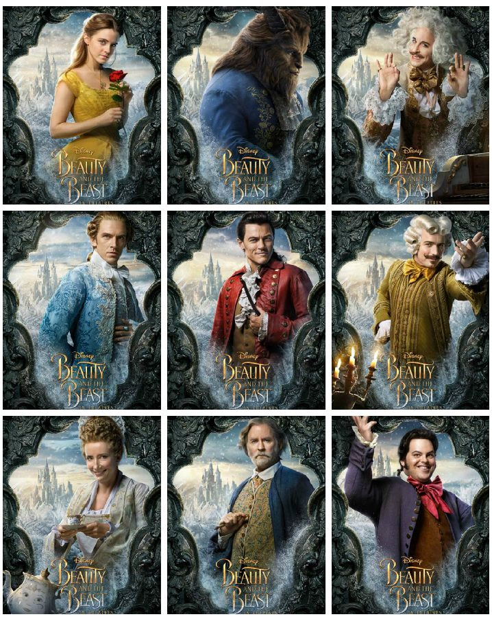 beauty and the beast character posters beauty and the beast - character posters!! #beourguest