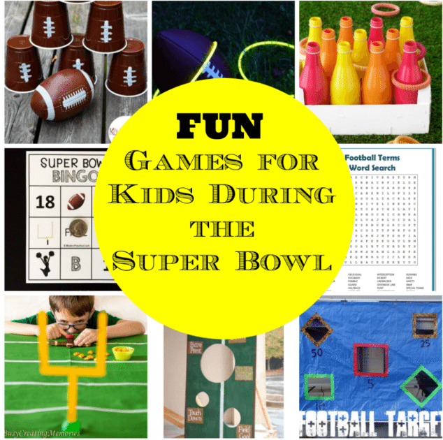 fun games for kids during the super bowl stylish life for moms