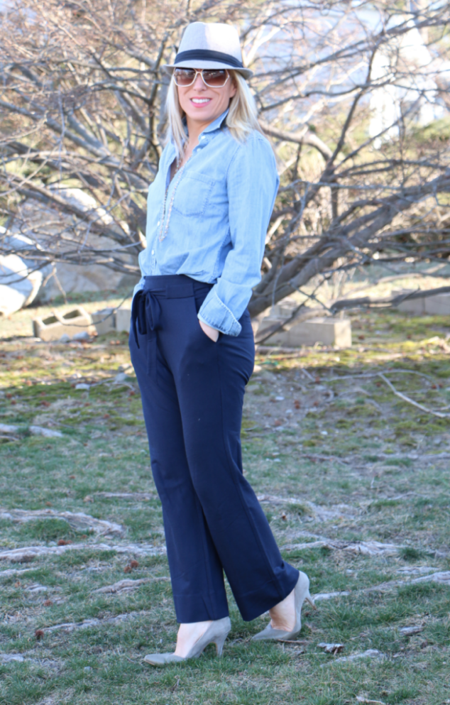 cabi Easy Crop Pants