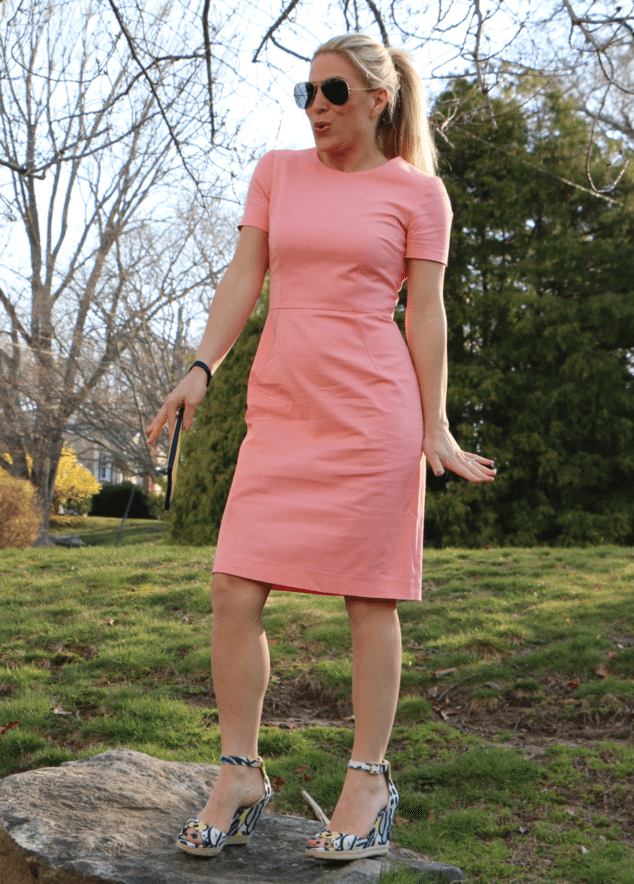 Lands' End Shift Dress