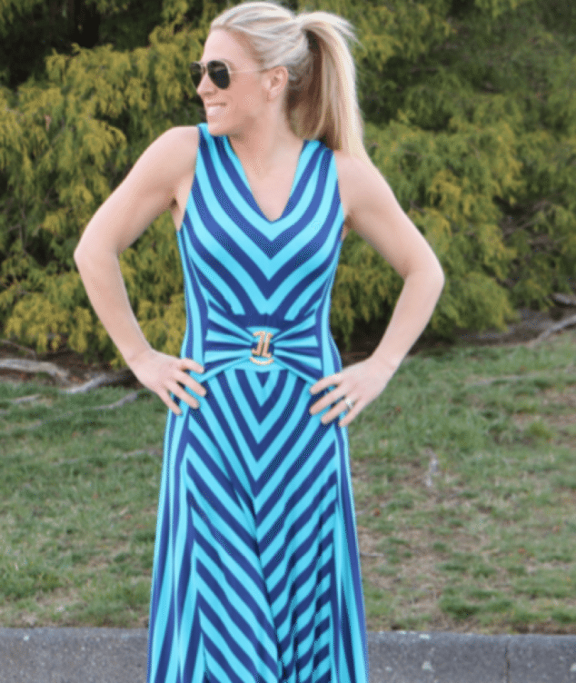 Liz Lange Striped Dress