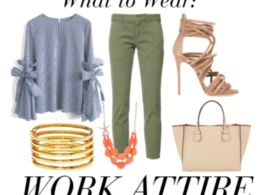 What to Wear: 5 Easy Work Outfits