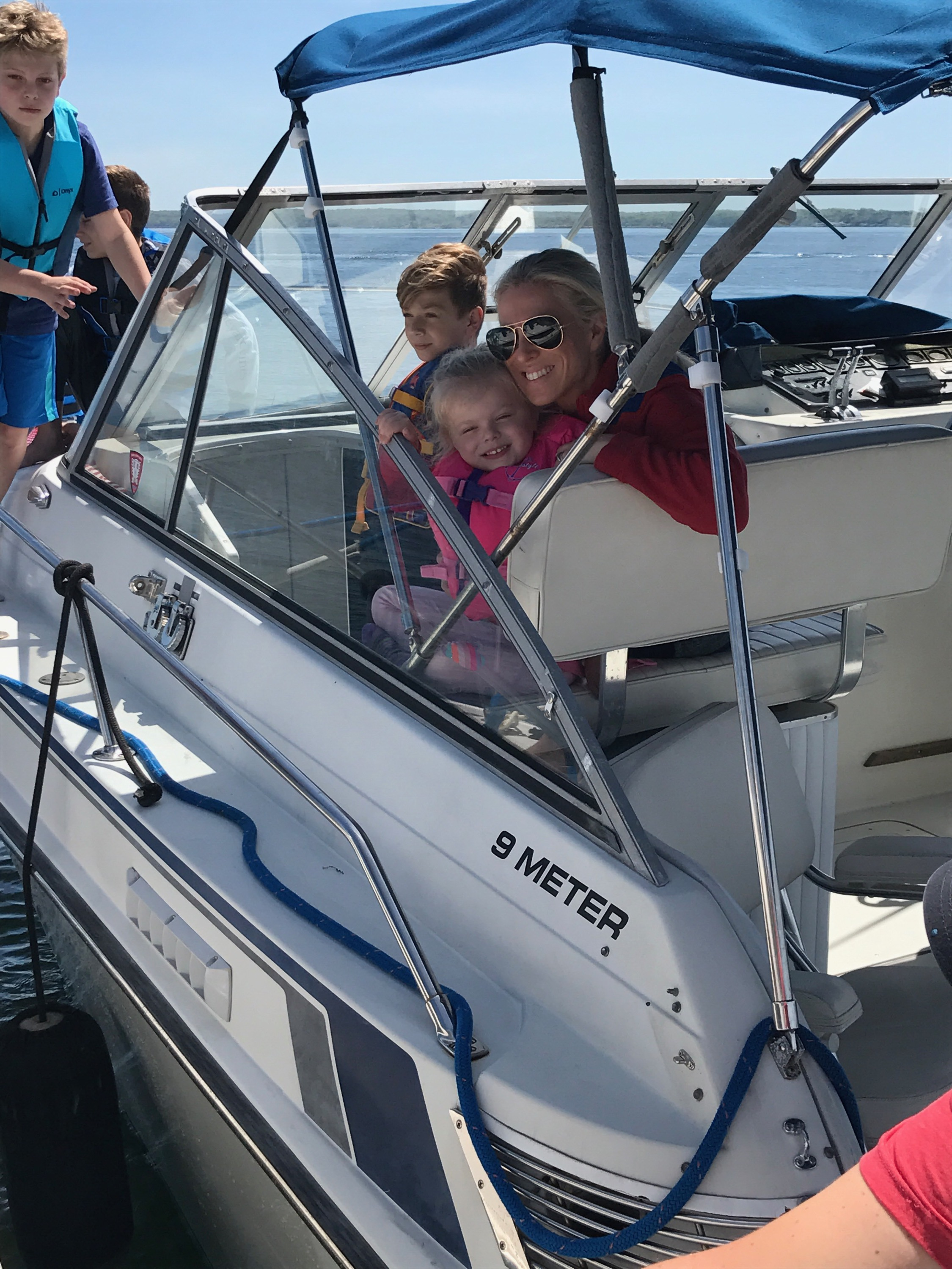We had so much fun getting out on the water.