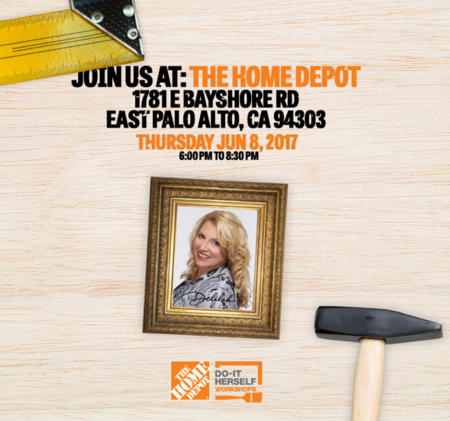 Join Me Tomorrow For A Do It Herself Workshop At The Home Depot
