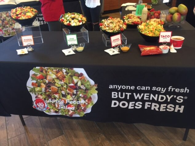 Wendy's Fresh Salads