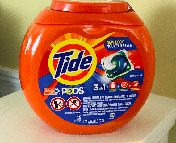 Tide Liquid Laundry Pac Tub