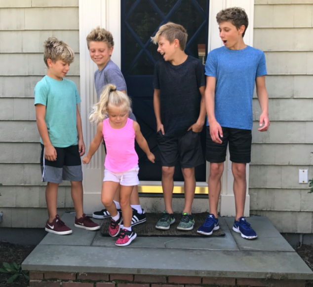 They all got what they considered the perfect sneakers for back to school.