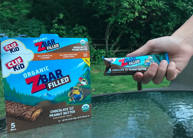 Clif Kid Zbars are tasty and healthy. You can't beat that!