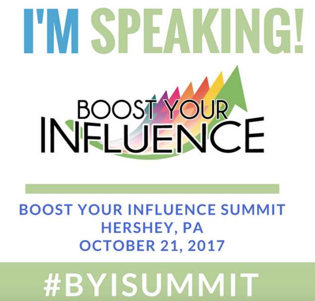 Vera and I will be keynoting at the Boost Your Influence Summit!